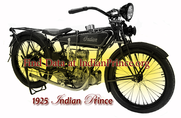 Indian Prince Motorcycle