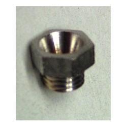 Indian Prince Schebler G series number 6 Float valve retainer nut.