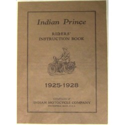 Indian Prince Riders Manual