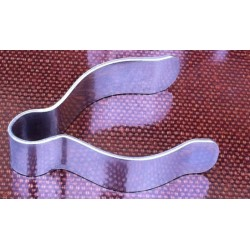 Indian Prince wire clip 1inch nickel plated