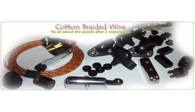 Cotton Braided Wire